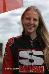 Andee Beierle Sprint Car Driver At Knoxville Raceway