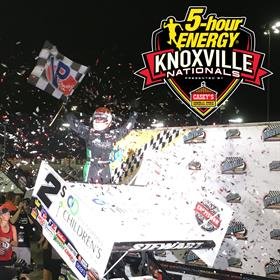 Shane Stewart Holds Off Schatz on Night #1 of the 56th Annual Knoxville Nationals!