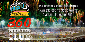 360 Booster Club Increases Purse for Knoxville Raceway 360 Sprints in 2021