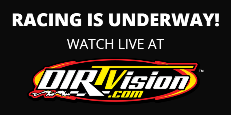 now racing, watch live.